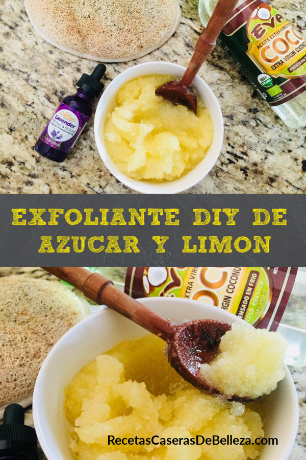 Exfoliante DIY DE AZÚCAR