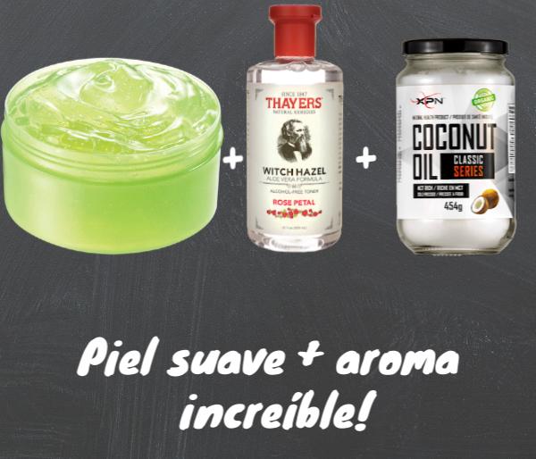 Ingredientes Para Aftershave Casero