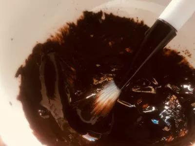 mascarilla de aceite de coco y cocoa