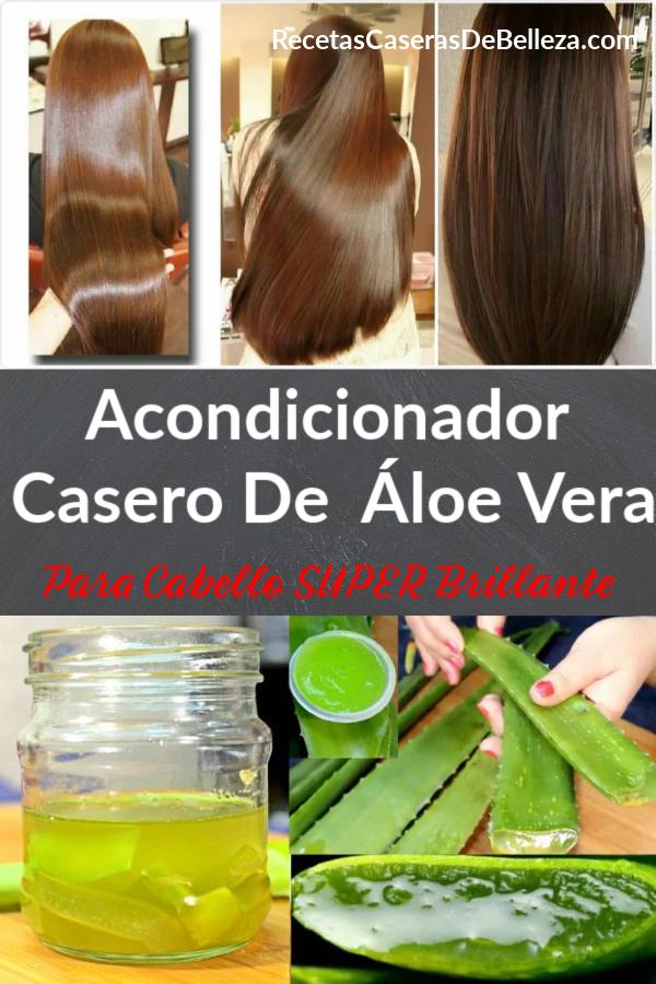 Acondicionador Casero De Áloe Vera