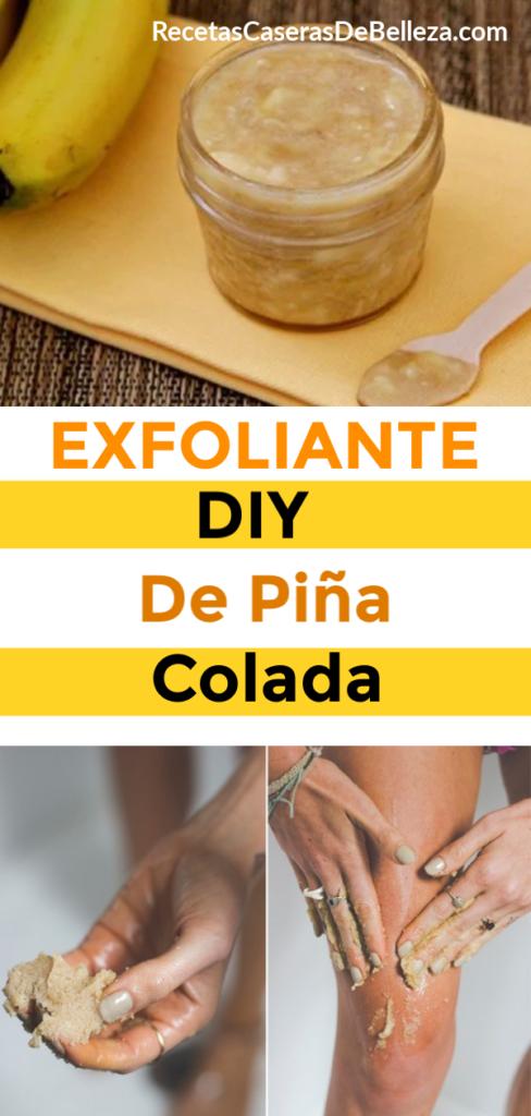 Exfoliante DIY De Piña Colada