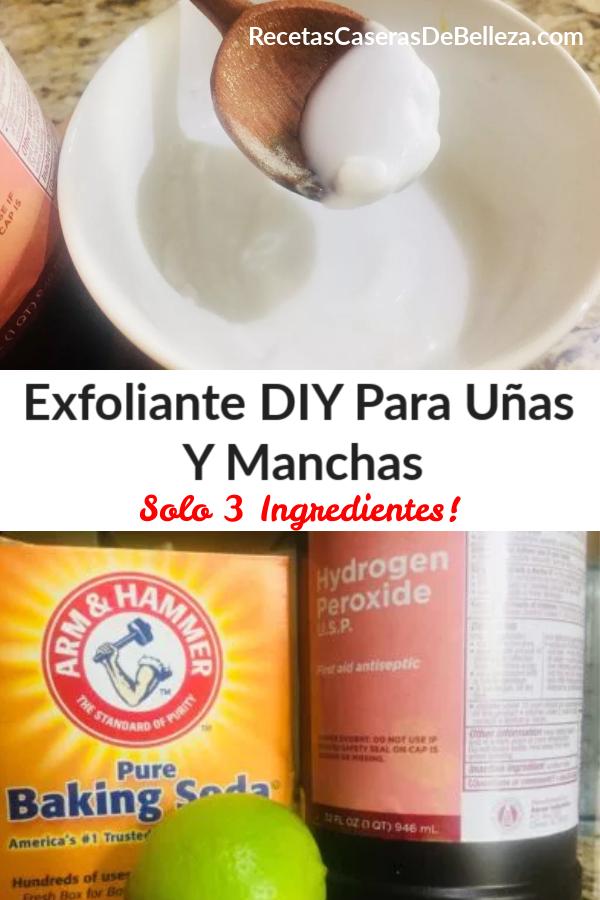 Exfoliante DIY Para Uñas