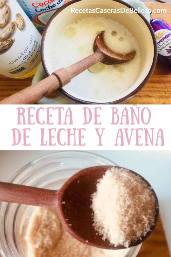 Receta De Baño De Leche