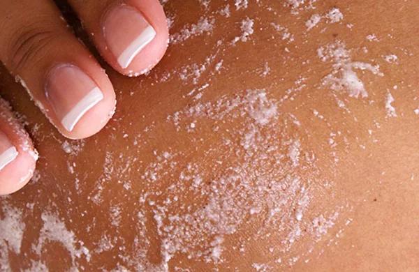 exfoliante de sal