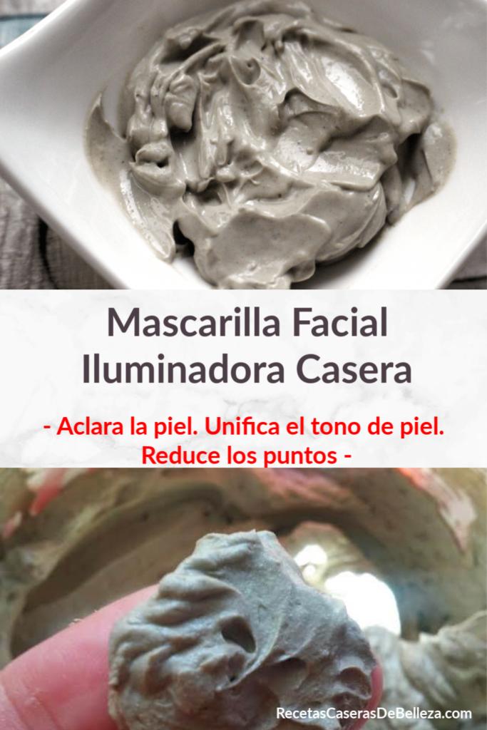 Mascarilla Facial Iluminadora