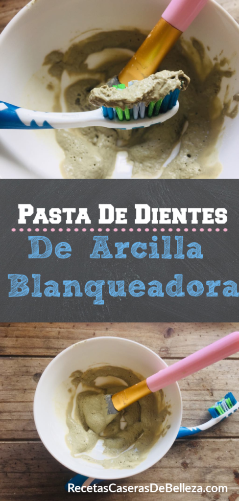 Pasta Dental Blanqueadora DIY