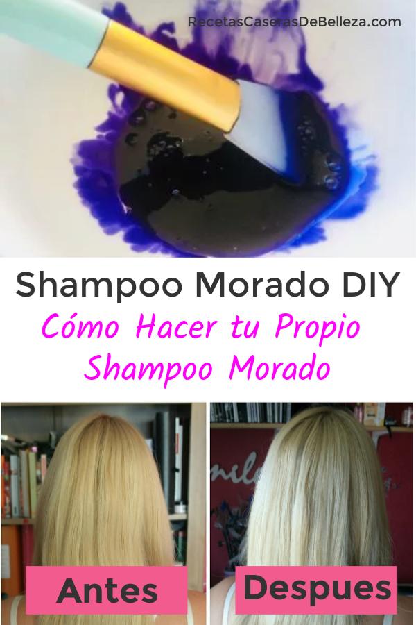Shampoo Morado DIY
