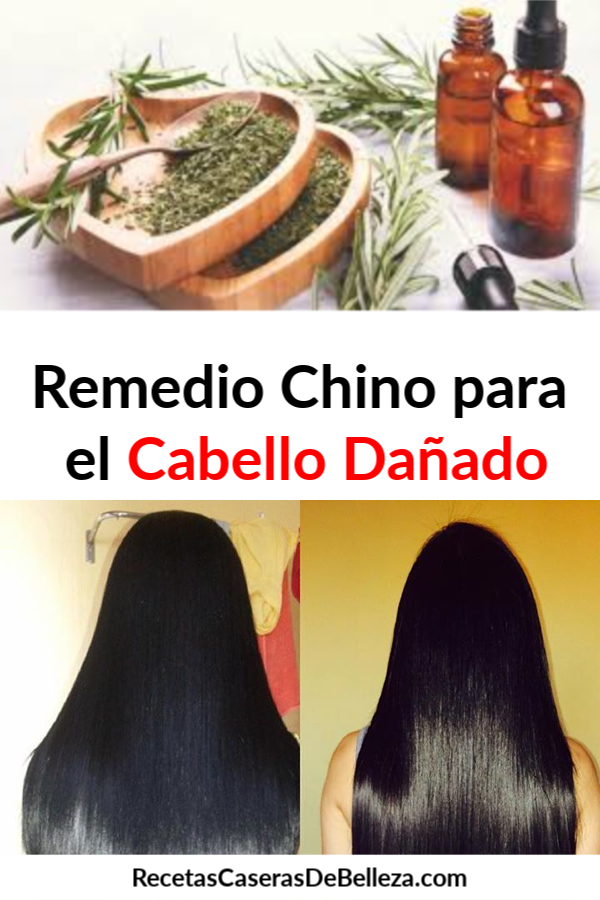 Recetas chinas para el cabello