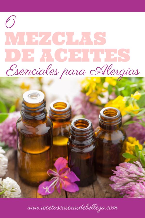 Aceites Esenciales para Alergias