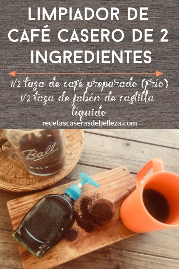 Limpiador de Café Casero
