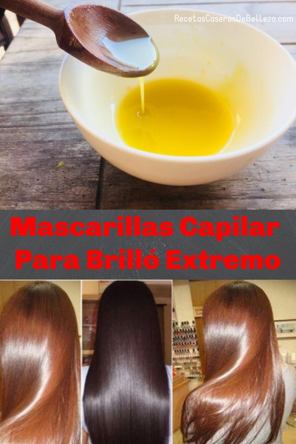 Mascarilla Capilar DIY para Brillo