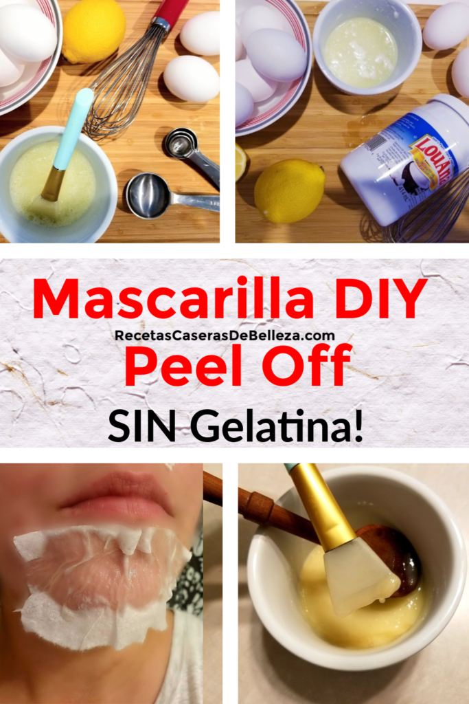 mascarilla facial diy
