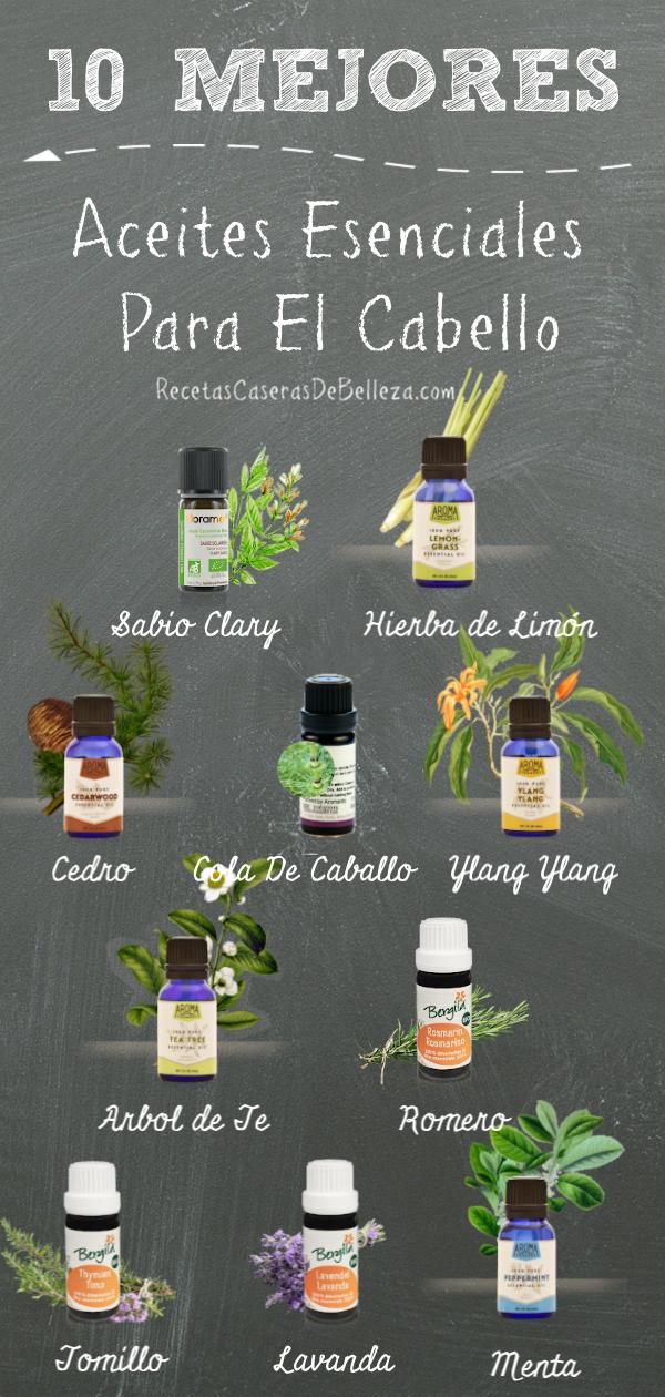 Estos mejores aceites esenciales se pueden comprar en tu tienda de salud local o en línea y, cuando se usan regularmente, ¡pueden transformar completamente su cabello!