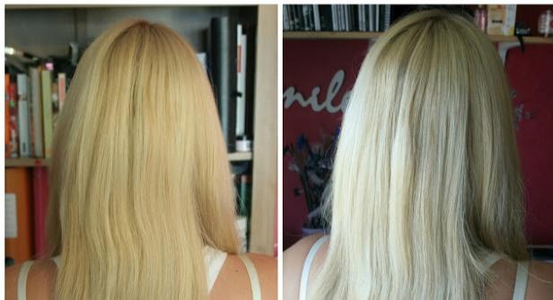 antes y despues mascarilla lush