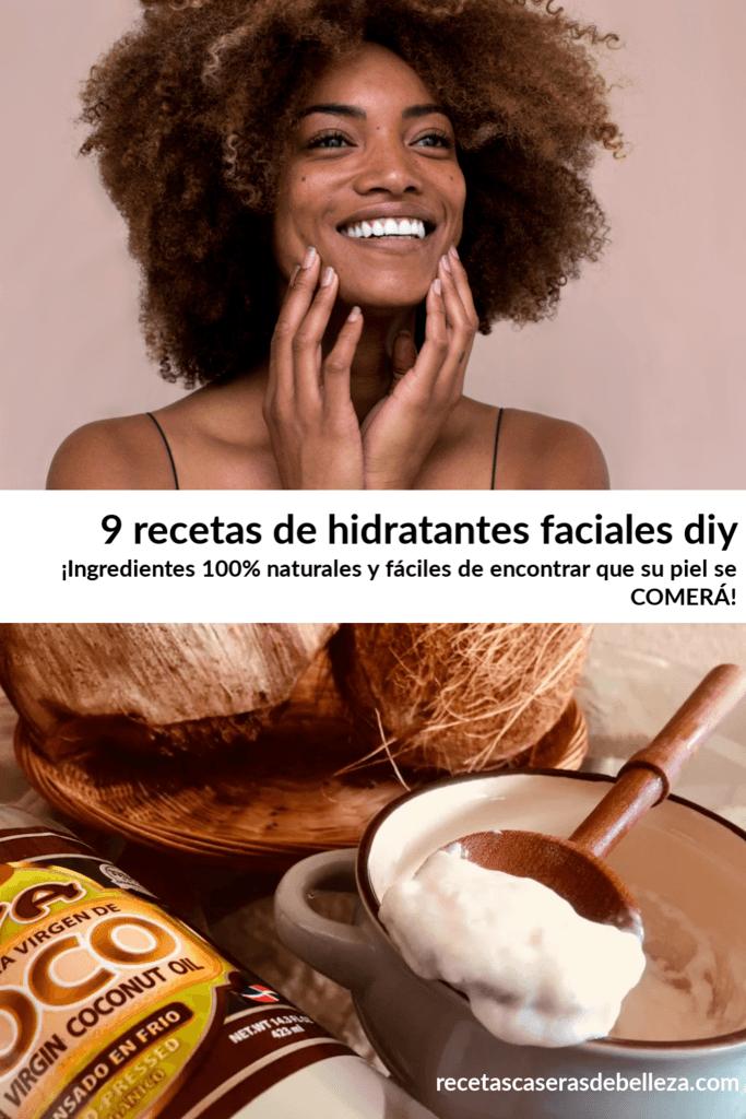 Recetas de hidratantes faciales DIY